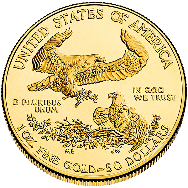 Buy 1 Oz American Gold Eagle Coins Low Premiums On 1 Oz