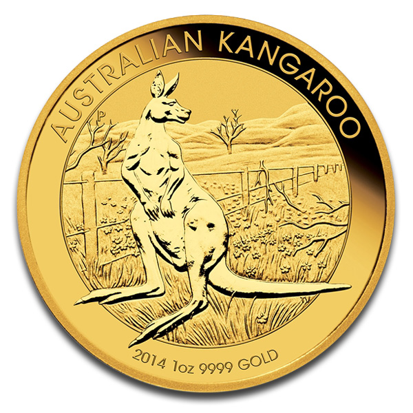 Buy Australian Kangaroo Gold Coin (1 Oz) Coins