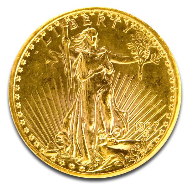 Buy 20 Saint Gaudens 1933 Double Eagle Coins Online