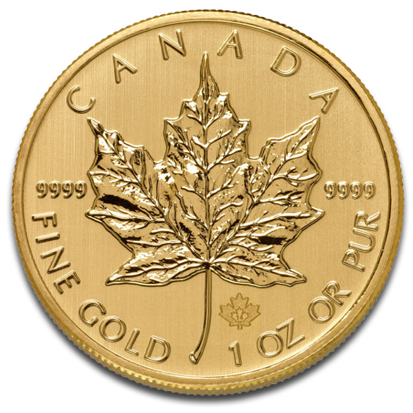 Buy Canadian Maple Leaf Gold Coin (1 Oz) Coins