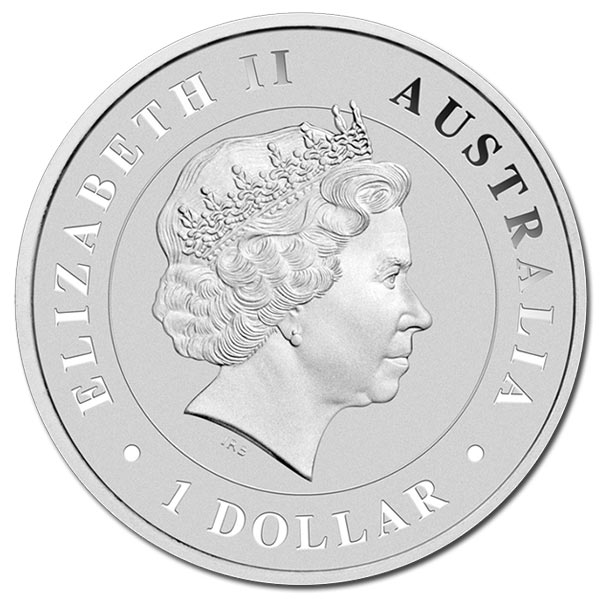 Australian Saltwater Crocodile 1 Oz Silver Coins from the Perth Mint thumbnail
