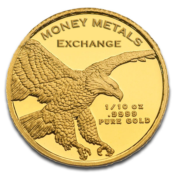 1/10 Oz Lady Liberty Gold Rounds thumbnail