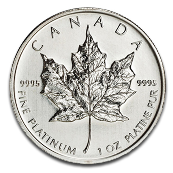 Buy Canadian Maple Leaf Platinum Coin (1 Oz) Coins