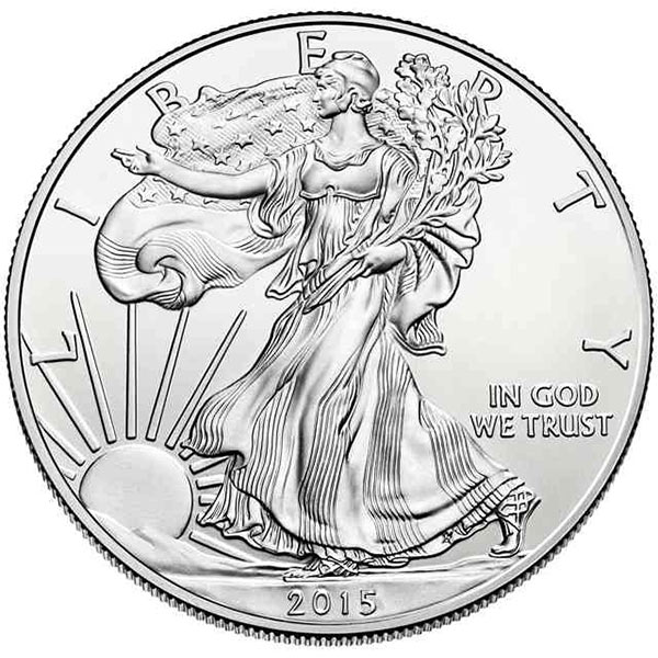 Buy Silver American Eagle (1 Oz) Coins