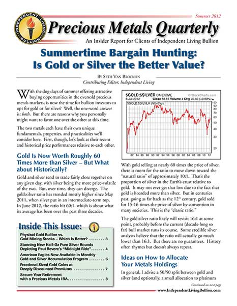 Money Metals Insider - Summer 2012
