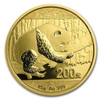 Chinese Panda Gold - 15 Gram, .999 Purity