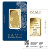 PAMP Suisse 1 Oz Gold Bar
