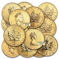 Canadian Gold Maple Leaf Coins for Sale · Money Metals®