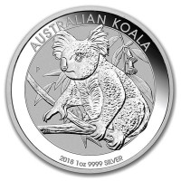 Koala - 1 Oz .999 Fine Silver