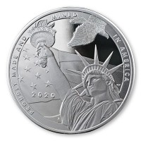 True Patriot - 1 Oz Pure Silver Round