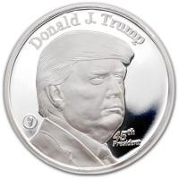 President Trump - .999 Pure Silver 1 Oz Round