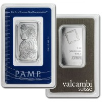 Platinum Bar - 1 Troy Ounce, .9999 Pure