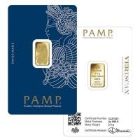 PAMP Suisse 2.5 Gram Gold Bars