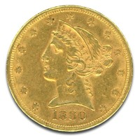 $5 U.S. Liberty Gold Coins