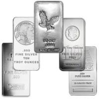 10 Oz Silver Bars
