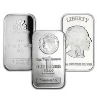 1 Ounce Silver Bars