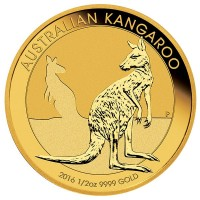 1/2 Oz Australian Kangaroo Gold Coins