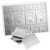 Royal Canadian Mint MapleFlex Bar - 2 oz .9999 Silver