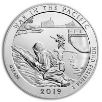 America the Beautiful - War in the Pacific National Historical Park 5 Ounce .999 Silver