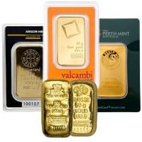 50 Gram Gold Bar, .9999 Pure
