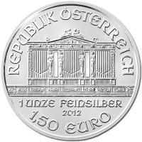 Austrian Mint Philharmonic 1 Oz Silver Coins