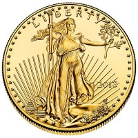 1 Oz Gold American Eagle Coins
