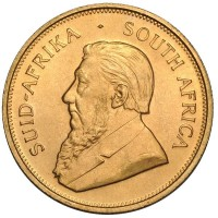 1 Oz South African Gold Krugerrand Coins