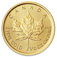 1/10 Oz Canadian Maple Leaf Gold Coins