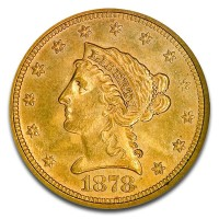$2.50 U.S. Liberty Gold Quarter Eagles