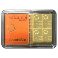 Valcambi CombiBar - 1 Troy Ounce .9999 Gold