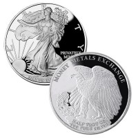 Walking Liberty Half Oz Silver Rounds