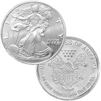 1/4 oz Walking Liberty Silver Rounds