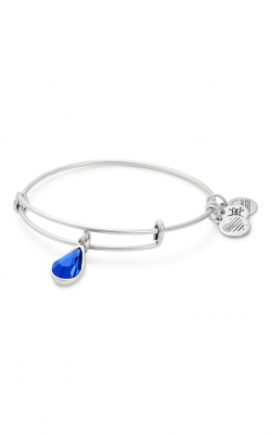 September Birth Month Charm Bangle With Swarovski Crystal product image