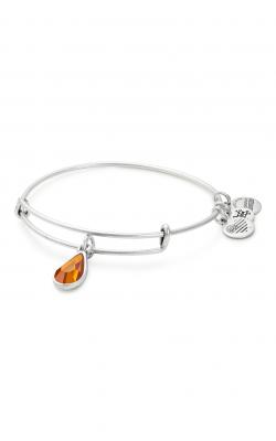 November Birth Month Charm Bangle With Swarovski Crystal product image