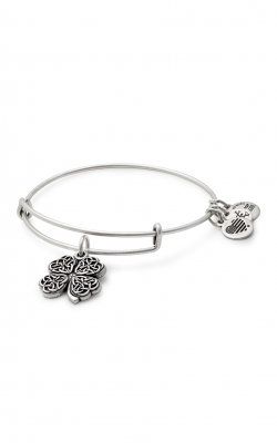 Four Leaf Clover Charm Bangle product image