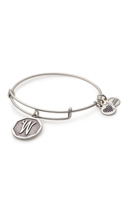 Initial W Charm Bangle product image