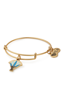 Blue Lotus Charm Bangle product image