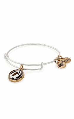 Initial Q Two Tone Charm Bangle product image