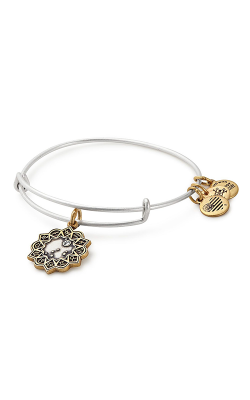 Capricorn Two Tone Charm Bangle product image