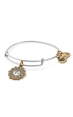 Libra Two Tone Charm Bangle product image