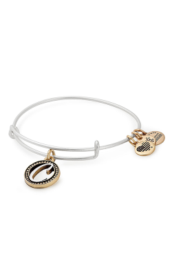 Initial C Two Tone Charm Bangle product image