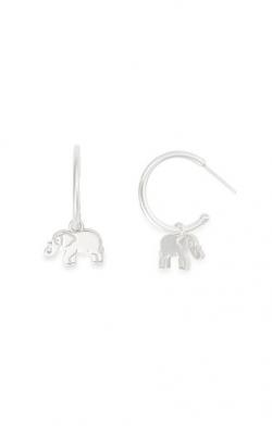 Elephant Hoop Earrings product image