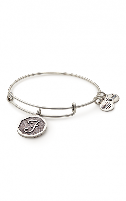 Initial F Charm Bangle product image