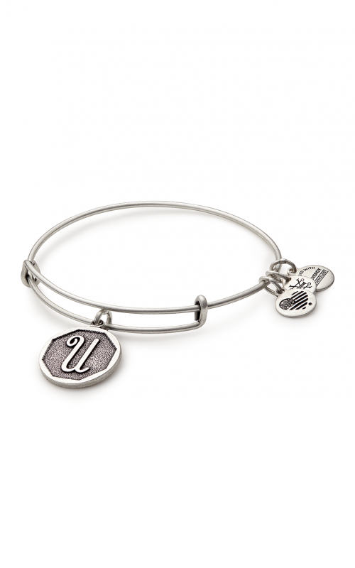 Initial U Charm Bangle product image
