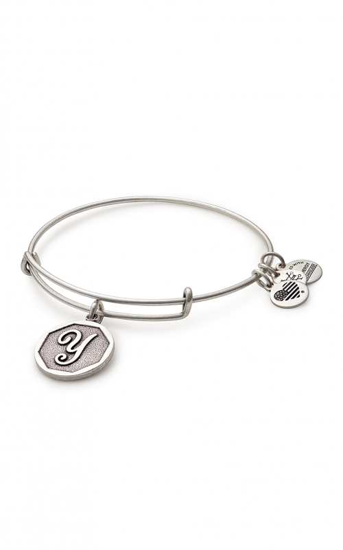Initial Y Charm Bangle product image