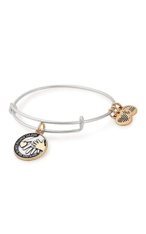 Hand in Hand Two Tone Charm Bangle product image