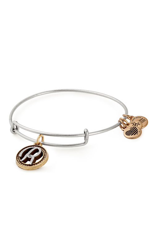 Initial R Two Charm Bangle product image