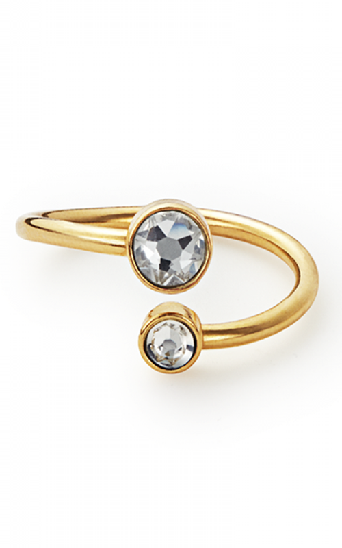 April Ring Wrap with Swarovski® Crystals product image