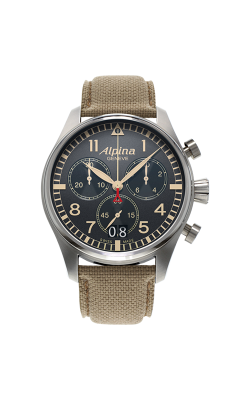Alpina Pilot Quartz Chronograph Watch AL-372BGR4S6 product image
