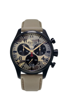 Alpina Pilot Quartz GMT Watch AL-372MLY4FBS6 product image
